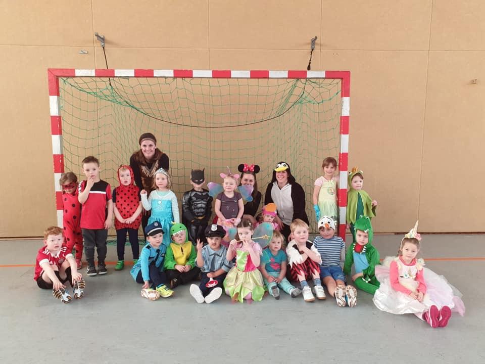 Handball_Bärenbande Fasching