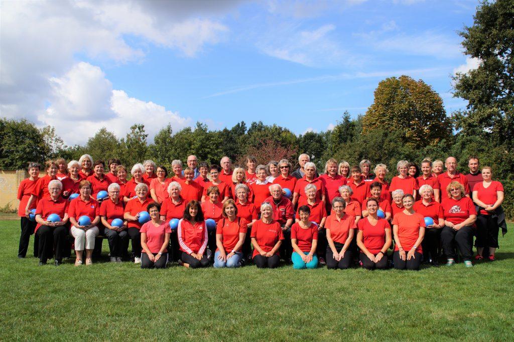 Die Gymnastikabteilung zum 125-jährigen TVE-Jubiläum