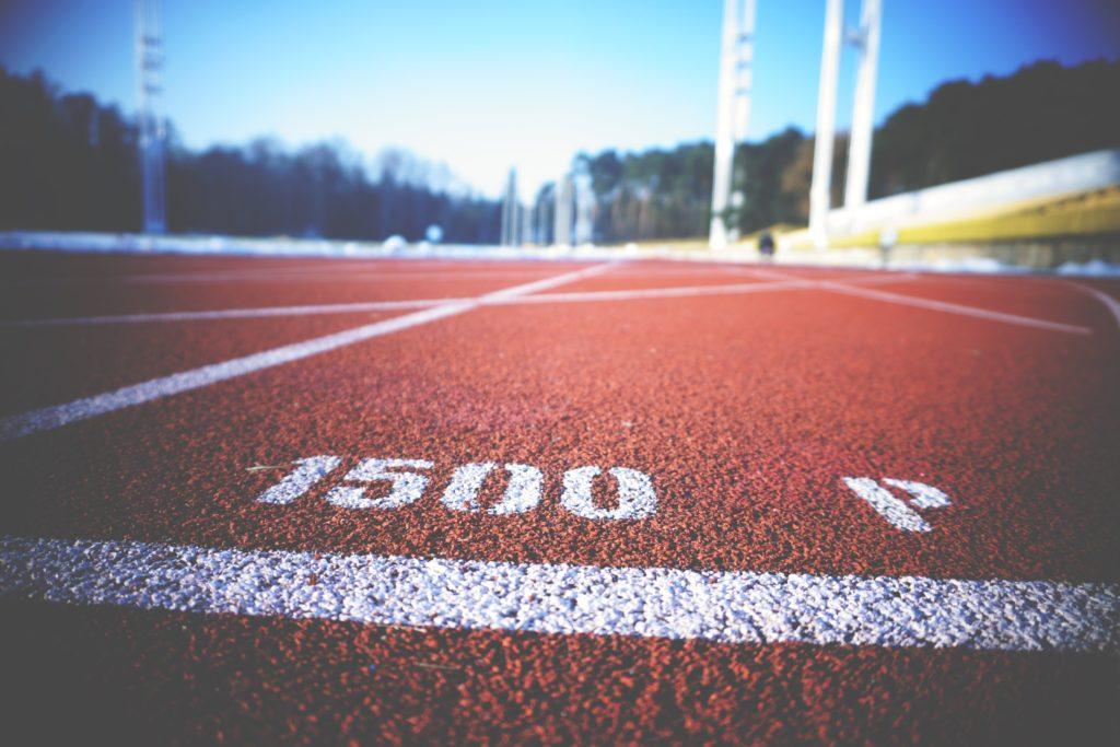 1500 Meter Start